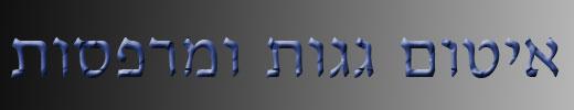איטום גגות ומרפסות בירושלים