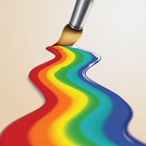 מגוון רחב של צבעים